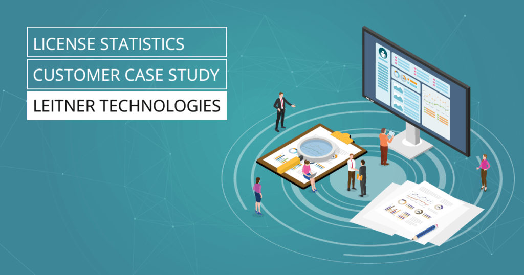 License Statistics Case Study - Leitner Technologies